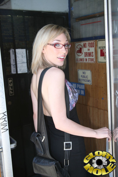 Sweaty lily labeau taking in and astonishingly a giant swarthy gloryhole bar