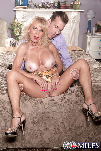 Buxom fairy-haired elderly Cara Reid giving bj earlier than hardcore very and stream of cum