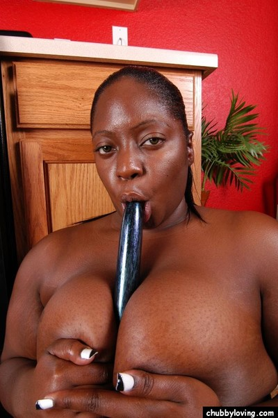 Fatty ebon Dynasty is taking in this tremendous swarthy sex-toy on web camera