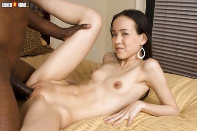 Thin juvenile Amai Liu attractive hardcore interracial smokin
