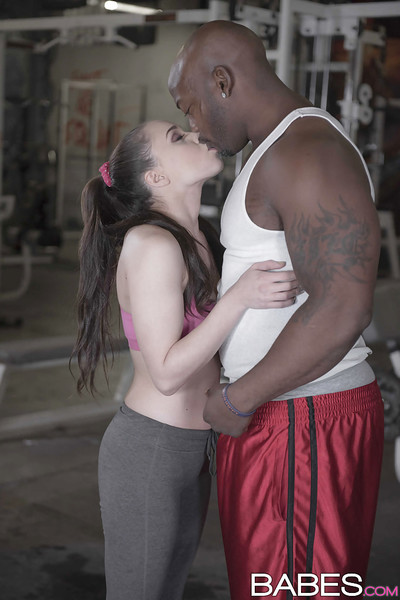 Yoga panties attired Tiffany Star enjoying hardcore interracial fucking action with BBC