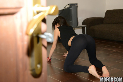 Carolina abril spreading her cum-hole on dominant of the voyeurs rod