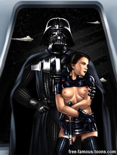 Star wars film heroes intense fucking action
