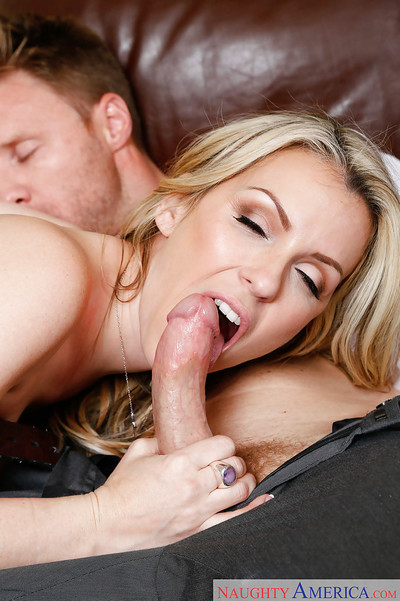 Wife milf Courtney Cummz makes love raw exactly after giving soggy dick sucking