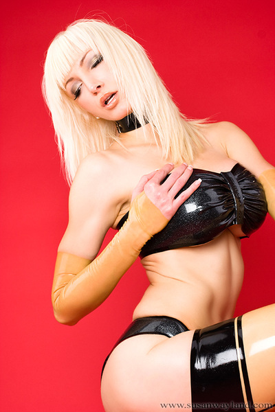 Susan Wayland in Covered to be Untamed with 74 stupendous latex pictures.