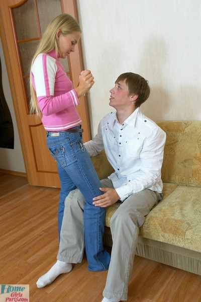 College princess enjoying habitat fucking action with bf