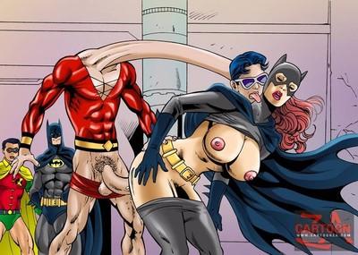 Super heroes smokin