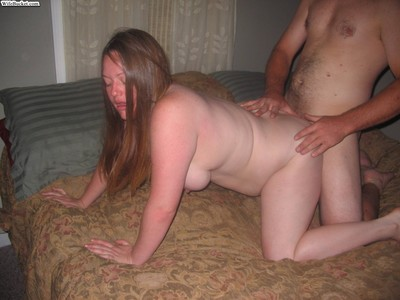 Nextdoor wives love severe homemade love making act