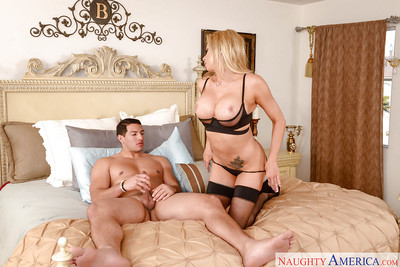 Euro mom Briana Banks releasing major bazookas to entice in  and heels