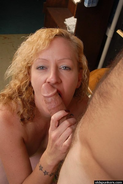 Ripened fairy mommy Heidi is remove clothes bare for love making act and facial sperm stream