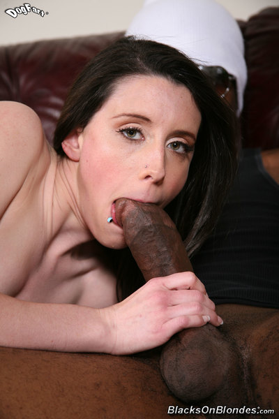 Sexually excited cutie meets up with a giant brown pride for some interracial goodness