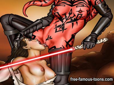 Star wars hardcore animation copulation