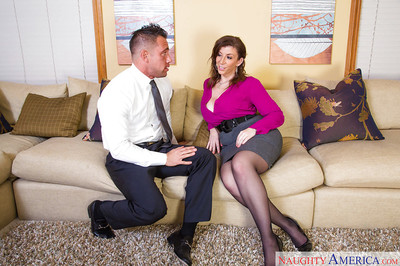 Charming milf Sara Jay is getting drilled by her fascinating boss