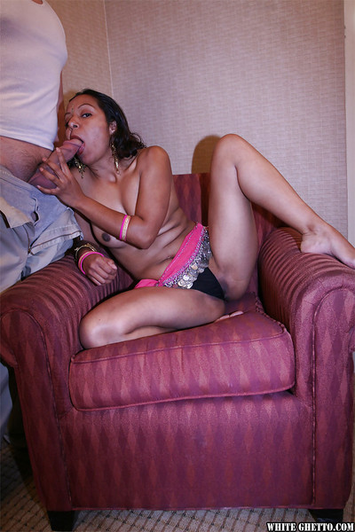 Cock cream starving indian whore gains a spunk flow later hardcore very