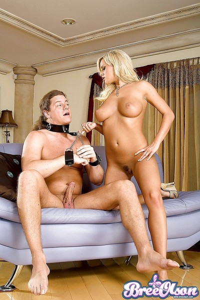 Titsy fairy pornstar Bree Olson enjoying hardcore femdom copulation in high heels