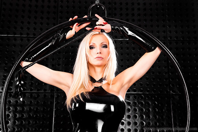 Newest glamour fashion latex collection worn by Sway in this swarthy raw penis coverer room - take part in 82 splendid latex pictures.