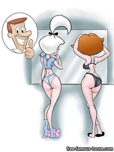 Renowned cartoons jetsons hawt group sex