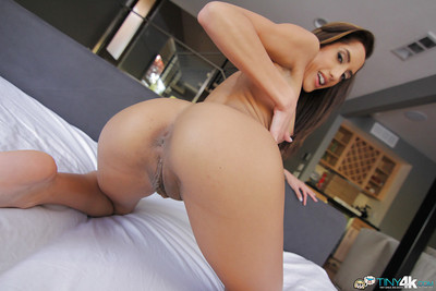 Slick Latin chick cutie Chloe Amour seems an pretty in her underclothes