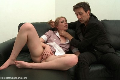 18yr old female house slave obtains punished by boss