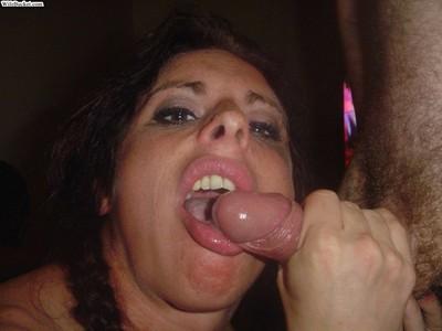 Nextdoor wives love blowing snakes