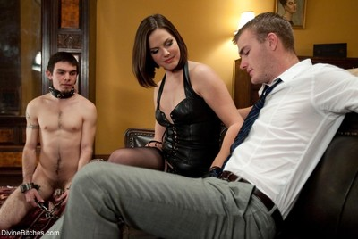 Chastity play cuckold bond smell his ramrod on my gentile