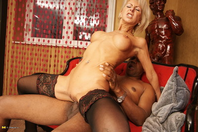 Sexual housewife hunger a raw ebon snake