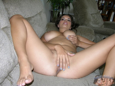 Appealing juvenile latin chick milf takes her clothes off pajamas