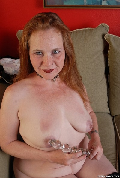 Mature Spicy enters her enjoyable pink gentile with this hardcore marital-device