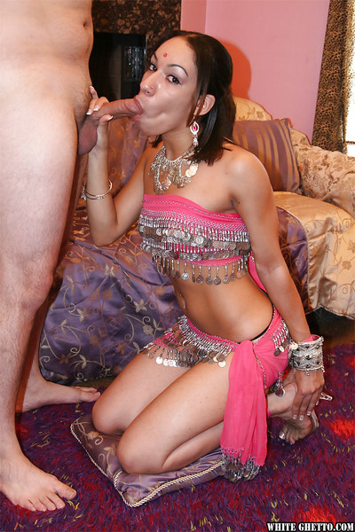 Sexually excited indian girl gives a oral play and benefits from her cage of love creampied afterward smoking