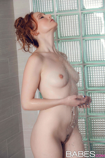 Crystal clark grateful her damp cage of love in the washroom