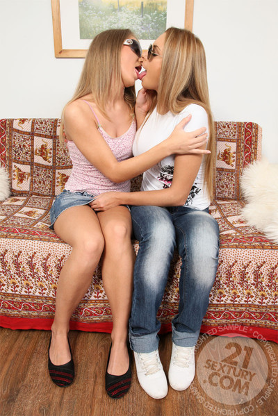 Lezcuties supposing u with solely legal anal freak woman-on-woman teens. don