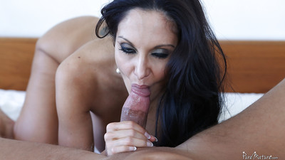 European milf Ava Addams is rubbing and squeezing this wiener