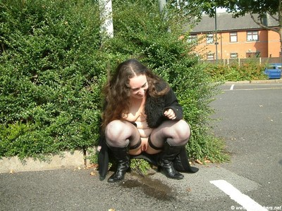 Raunchy bbw infant nimue obtains caught short although out in public