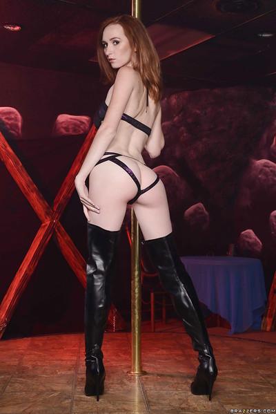 Dee Dee Lynn is activity an marvelous erotic dance dance in sexy pants