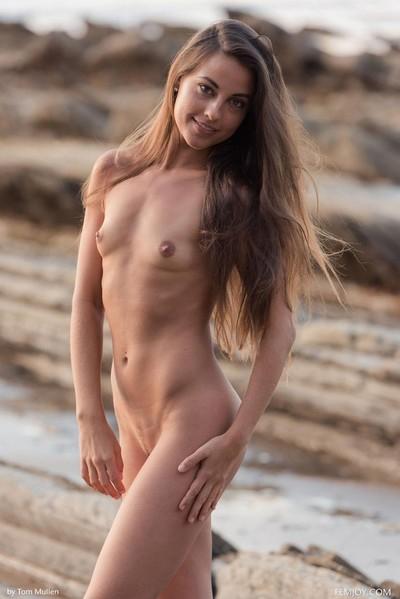 Dirty ordinary beach brunette hair