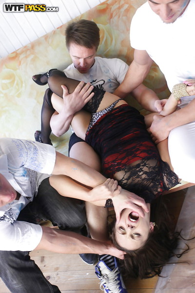 Dick sexually excited prostitute Dominika grand plenty of ramrod in hardcore orgy activity