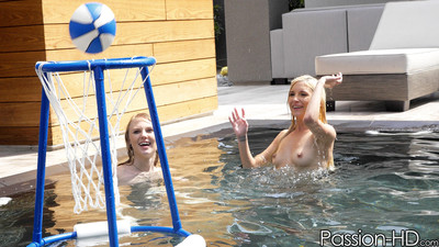 Ache college students lily rader and piper perri stroke off some