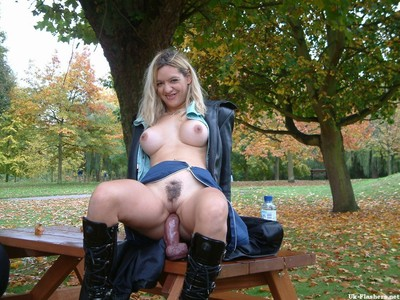 Dirty infant exhibitionist emmalouise takes a weighty vibrator adores