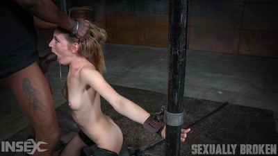 Toned mona fettered onto sybian, dynamic shifting servitude with epic deepthroat!