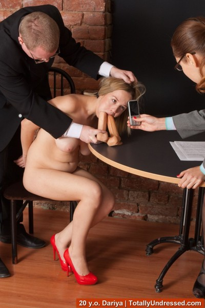 Boss craves to hire a fuckable bigtitted secretary