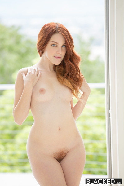 Red head case interracial creampie