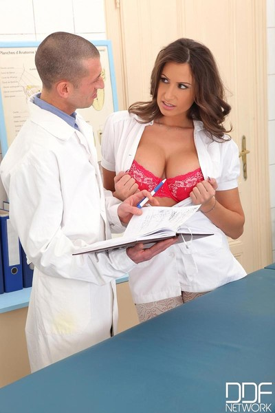 Titsy nurse corporeal jane gangbanged raw at put into