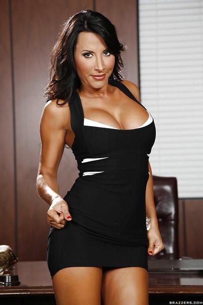 Latin cutie dear Lezley Zen demonstrates her stupendous enormous boobies!