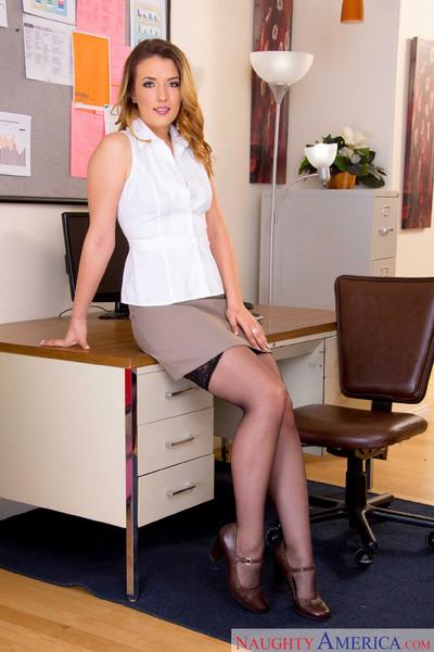 Shauna skye sucks and drills her coworker in the office