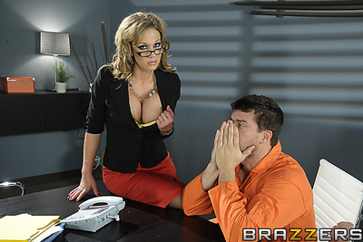 Smokin moist Nikki Sexx, a big-titted attorney, deliberates with Ramon, her client, whereas the jury reviewing his exemplar is hung. That babe tells him that that babe trusts himself guiltless but out of an alibi or evidence working in his favor, himself