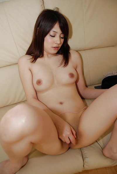 Marvelous Chinese infant Sachi Nishimori takes her clothes off down and has some wet crack toying satisfaction
