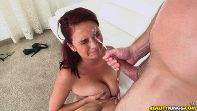 Hardcore fuck features a colossal mangos milf gal Ashley Graham