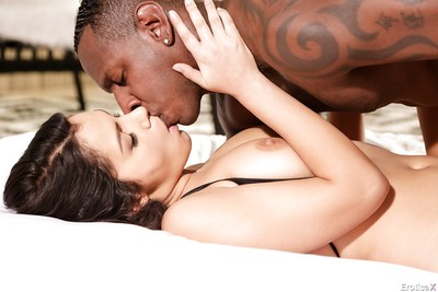 Euro pornstar Valentina Nappi stars in hardcore interracial porn activity