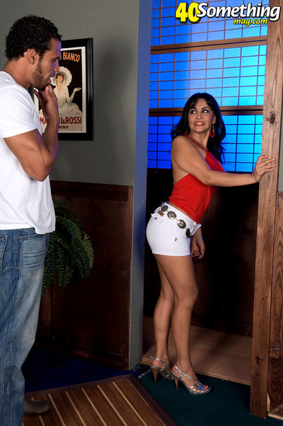 Latin cutie MILF getting screwed
