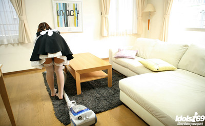 Japanese amateur female house slave